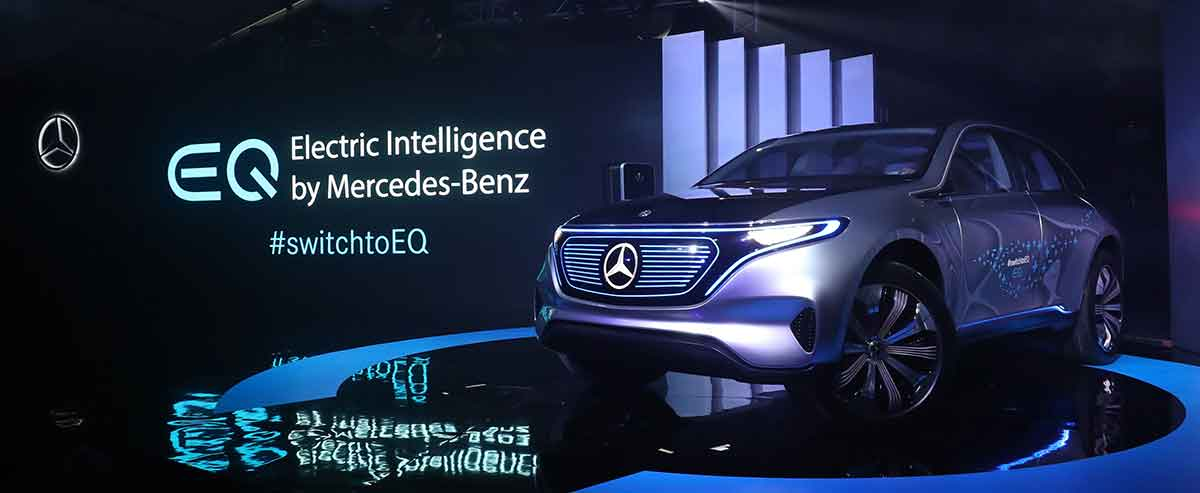 The Mercedes Benz Concept Eq Is In Desa Park City This