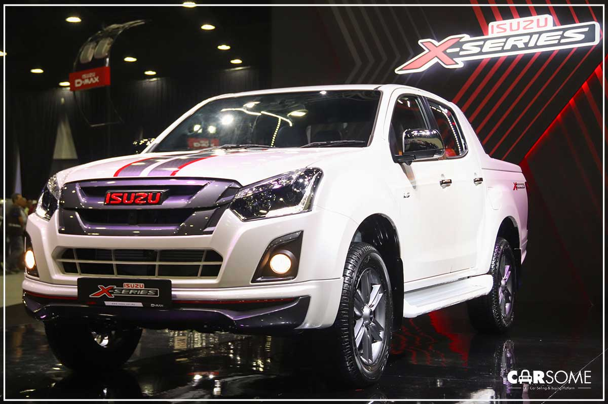 inject some excitement. isuzu's d-max x-series stands out from the