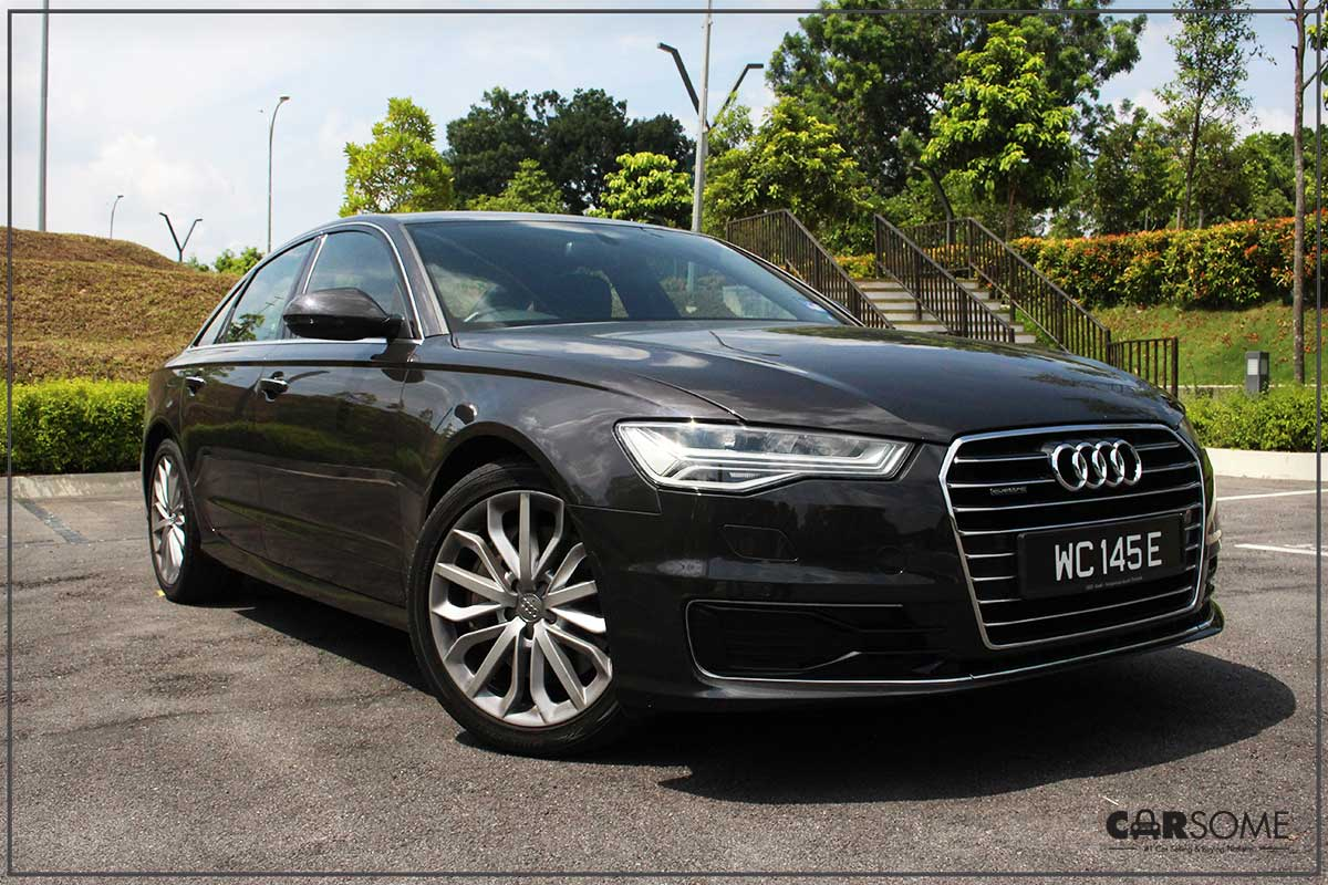 audi a6 3 0 tfsi quattro review a buaya in a bow tie carsome malaysia. Black Bedroom Furniture Sets. Home Design Ideas