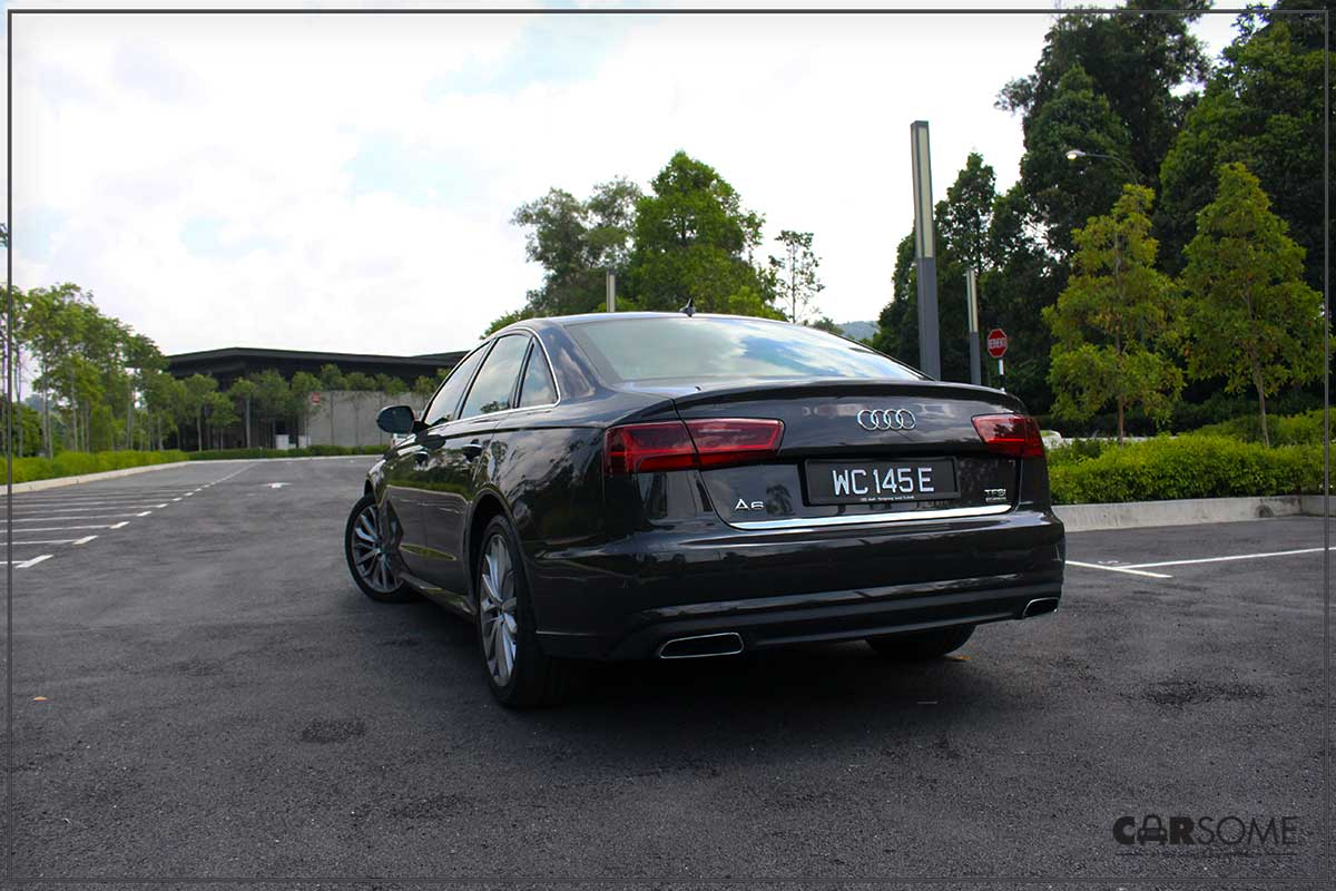 Audi A6 3 0 TFSI Quattro Review - A Buaya In A Bow Tie