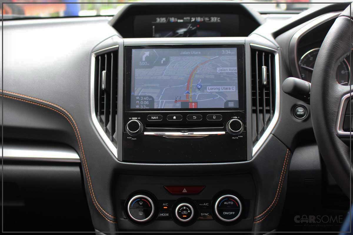 subaru xv navigation system manual