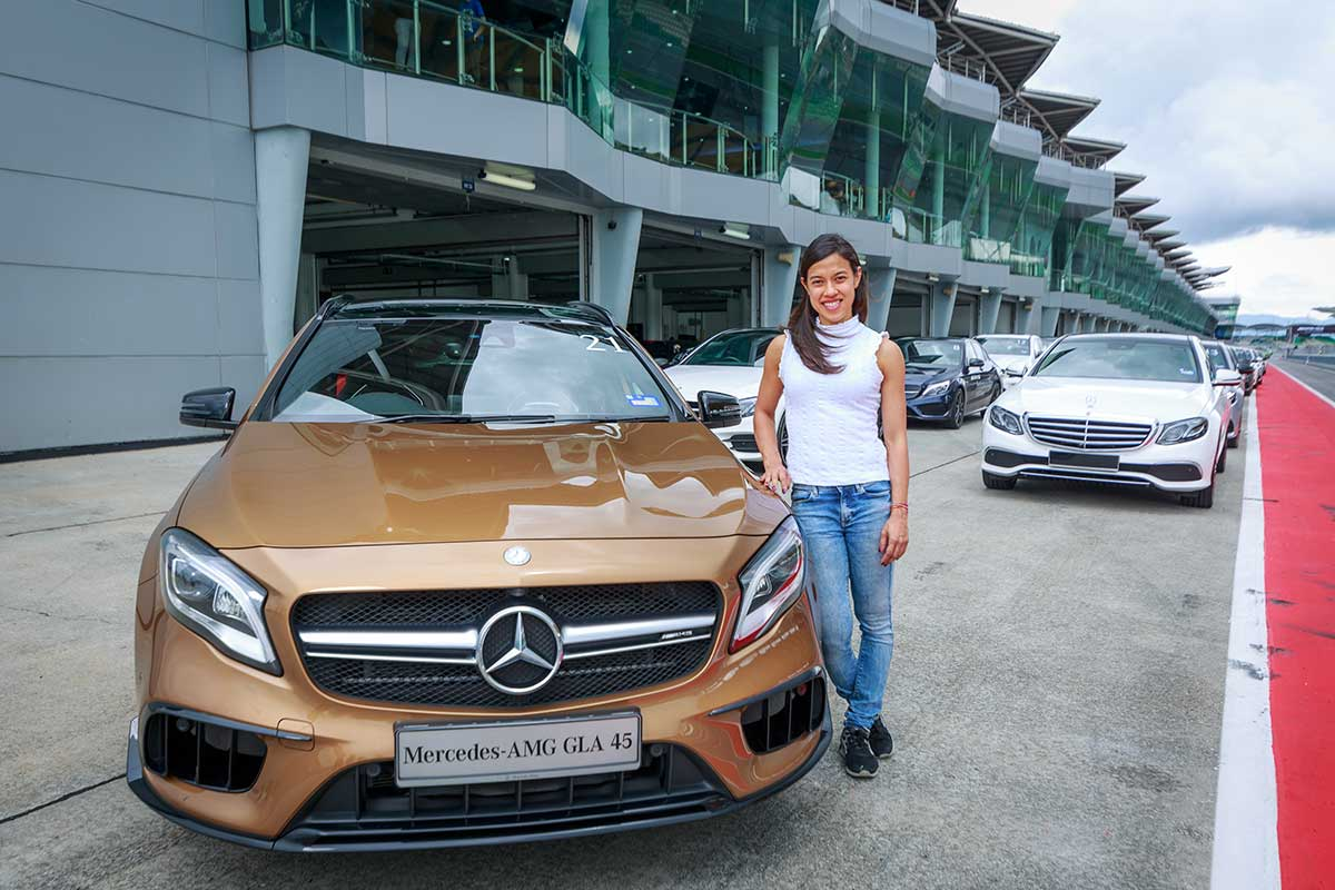 Mercedes benz announces local brand ambassador sets all for Mercedes benz brand ambassador