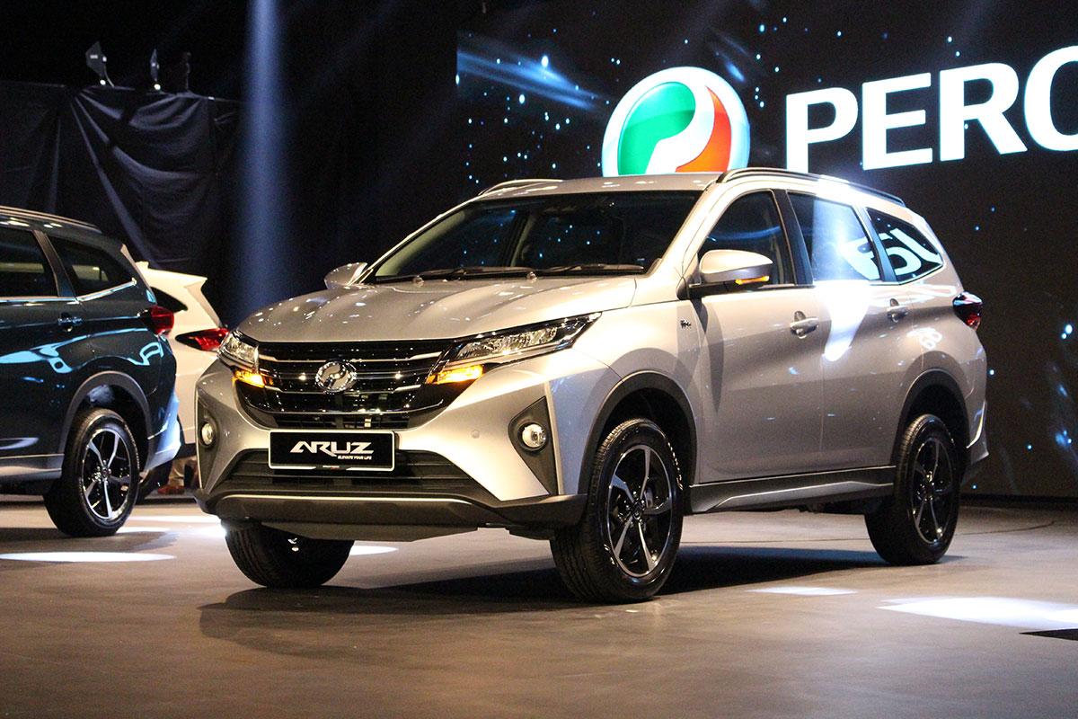 2019 Perodua Aruz 7 Seater Suv Launched Carsome Malaysia