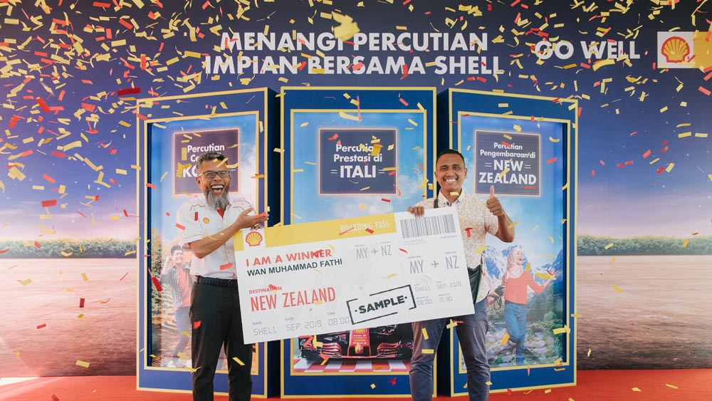 Shell Malaysia launches 'Win a Trip with Shell' contest