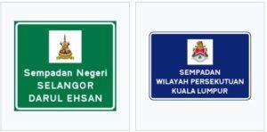 border signs