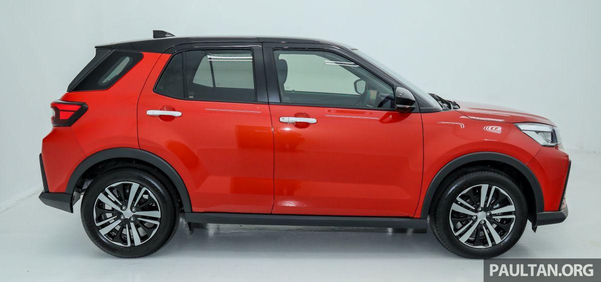 SUV Kompak Segmen B Perodua