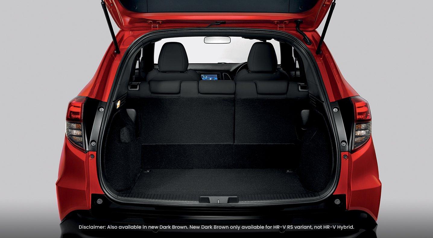 ruang kargo (cargo space) yang lebih luas dengan mod boleh suai mengikut keperluan