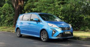 seven seater Perodua Alza
