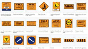 Temporary Road Signs