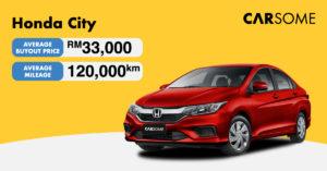 Honda City Buyout Price