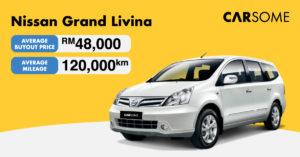 Nissan Grand Livina Buyout Price