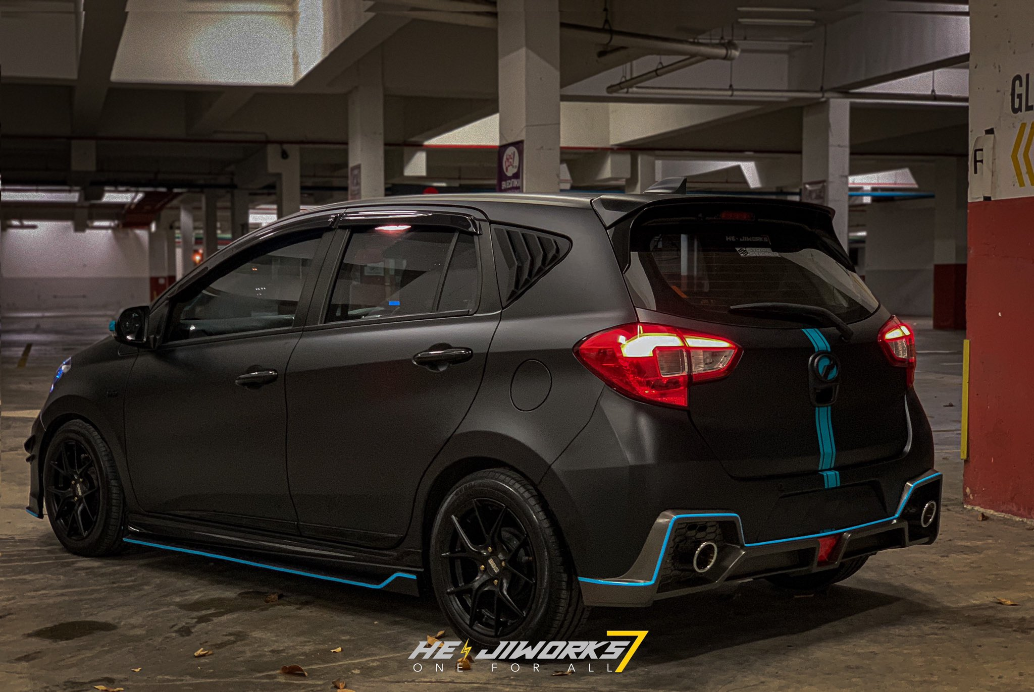 myvi modified