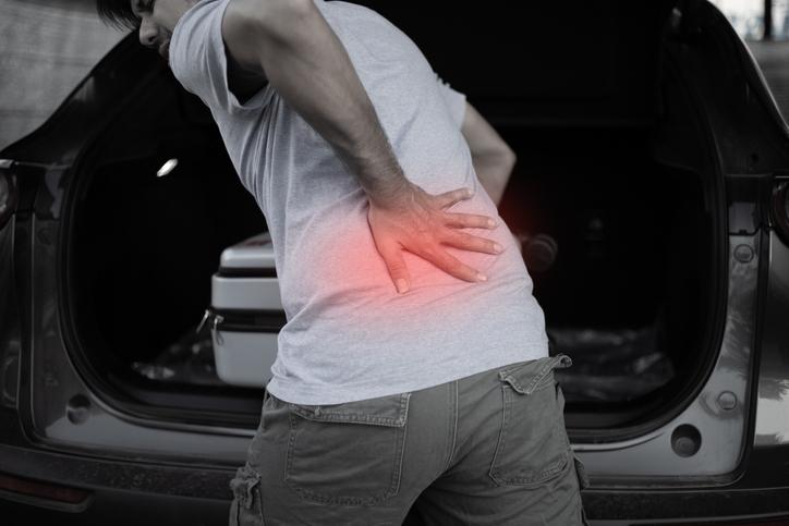 Sakit otot, sendi semasa memandu
