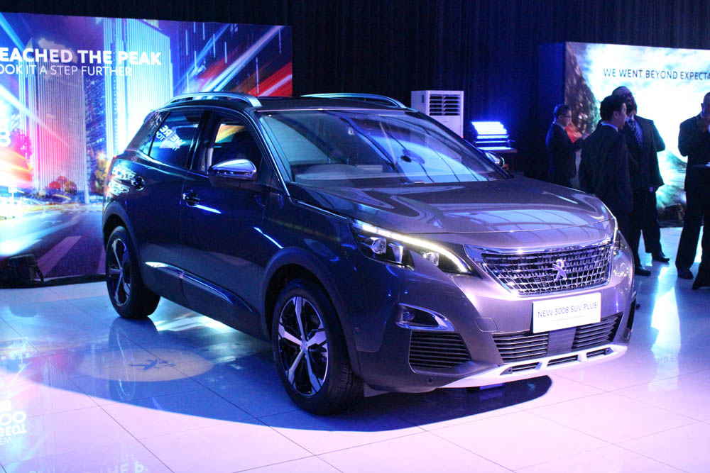Stand out from the SUV crowd with Peugeot's 3008 & 5008 SUV