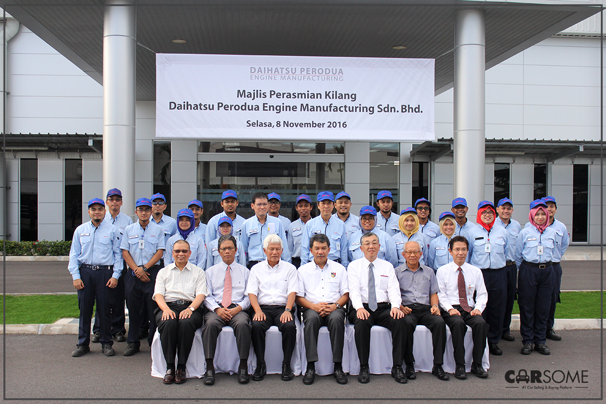 Official Launch of the Daihatsu Perodua Engine Manufacturing
