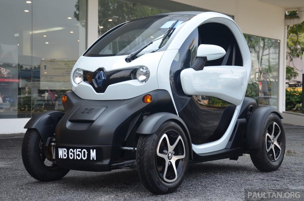 kereta elektrik murah: Renault Twizy