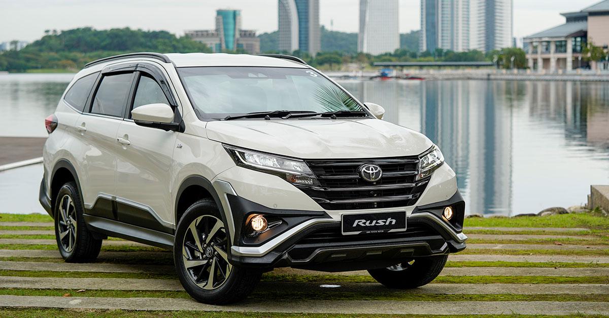 SUV Paling laris | Toyota Rush