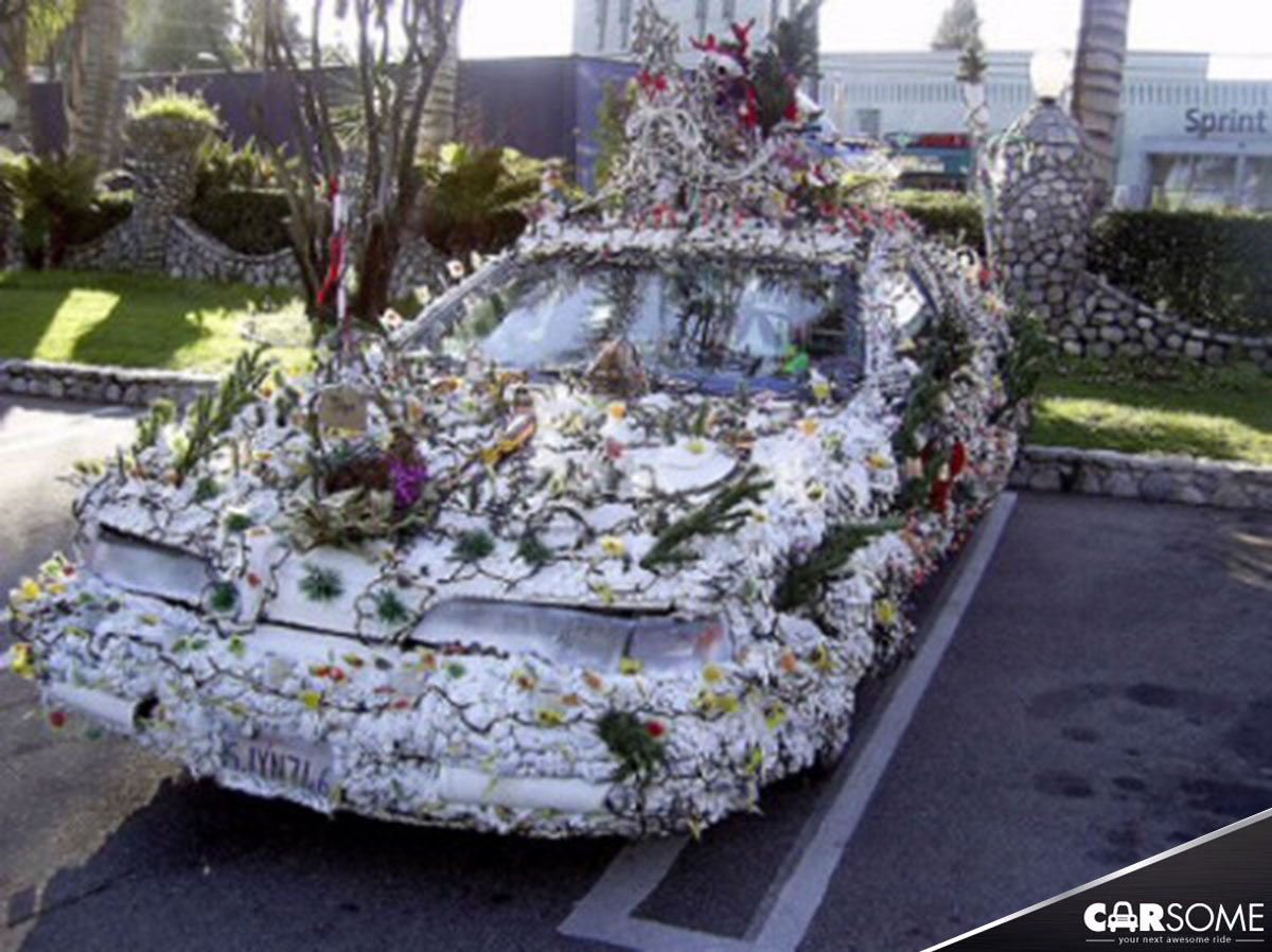 18 Most Creative Christmas Decorated Cars Carsome Malaysia