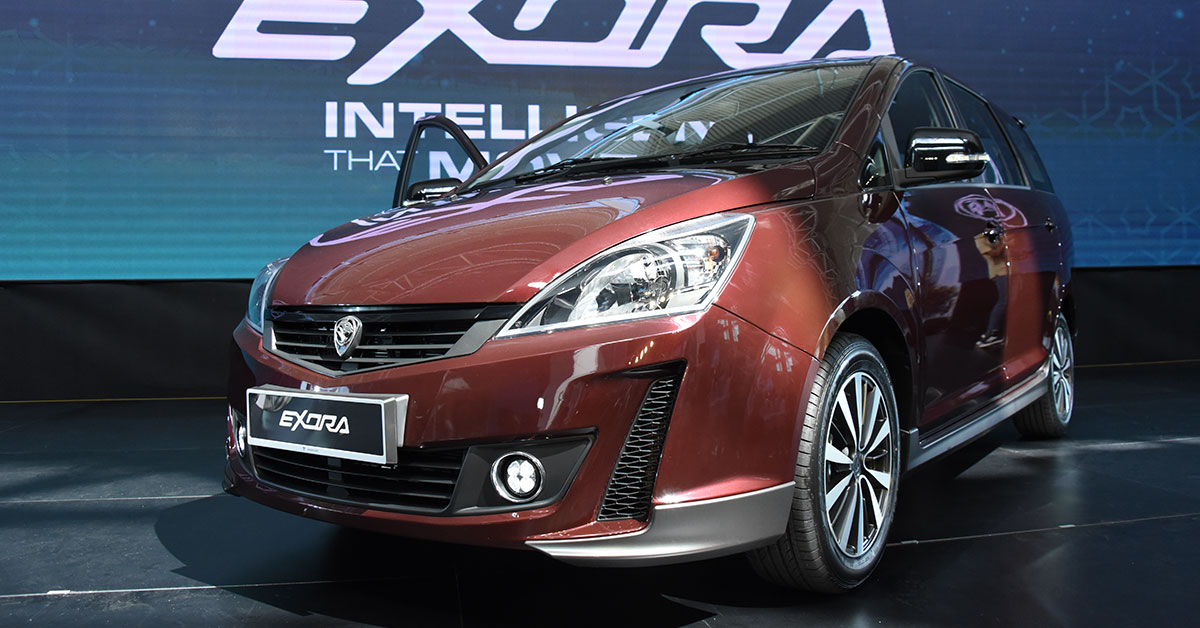 The Proton Exora has been refreshed for 2019  Here's the
