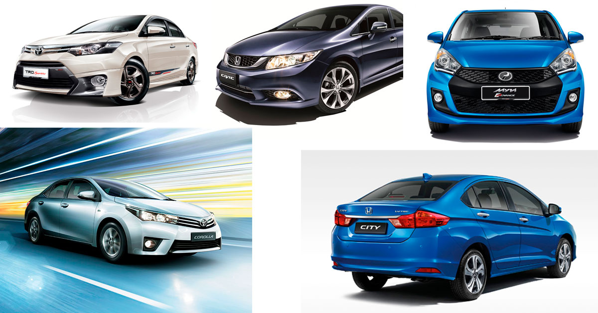 Cars In Malaysia That Hold The Highest Resale Value After 5 Years Carsome Malaysia