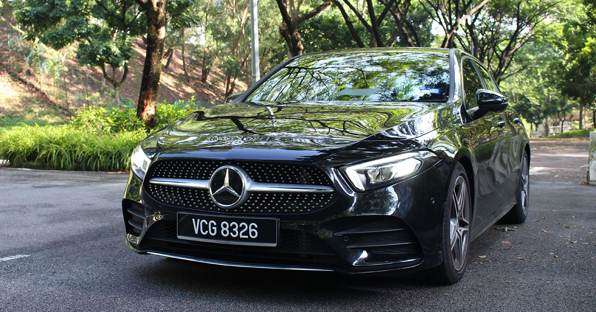Mercedes Benz A 250 W177 Amg Line Review Progressively Compact Carsome Malaysia