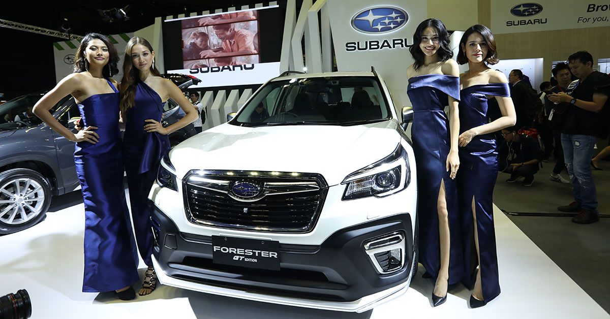 Subaru Launches Forester E Boxer And Gt Edition At 2020 Singapore Motorshow Carsome Malaysia