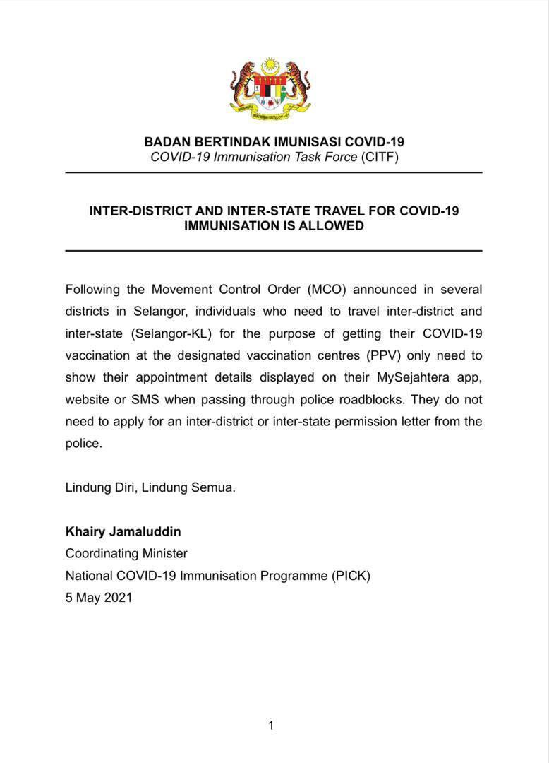 vaksin astrazeneca Malaysia