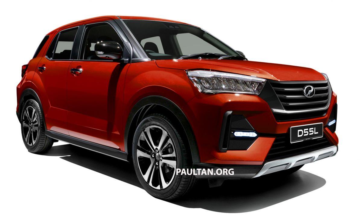 SUV baharu Perodua