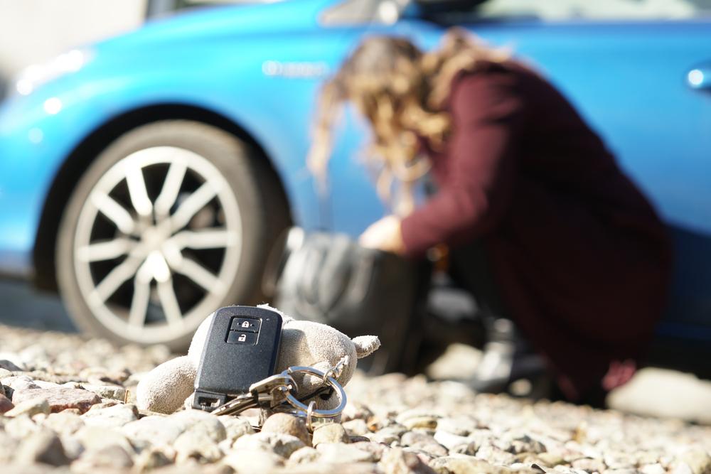 kunci kereta hilang