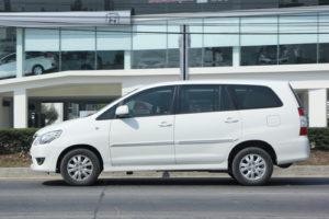 seven seater Toyota Innova