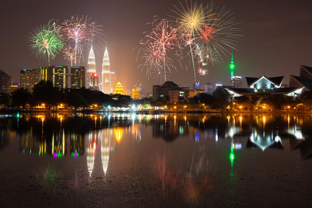 cuti umum di malaysia | bunga api tahun baharu