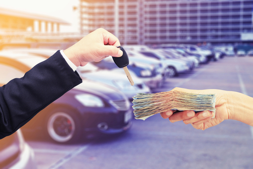 Paying for a car