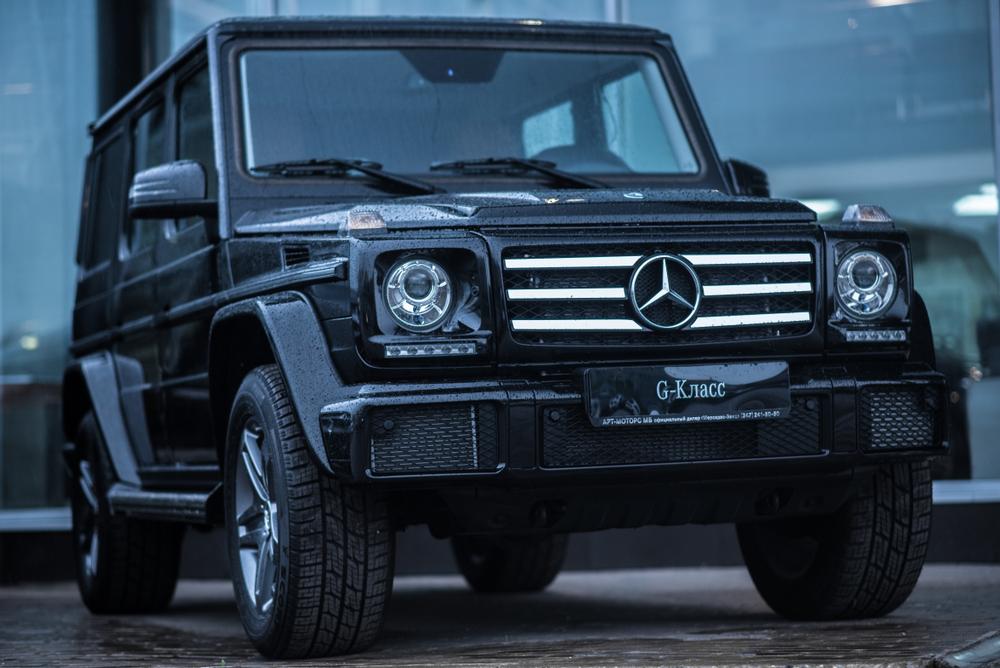 Mercedes-Benz G 350 terpakai