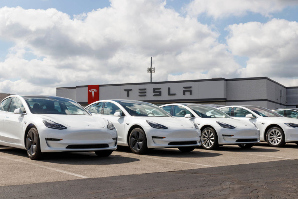tesla sell featured
